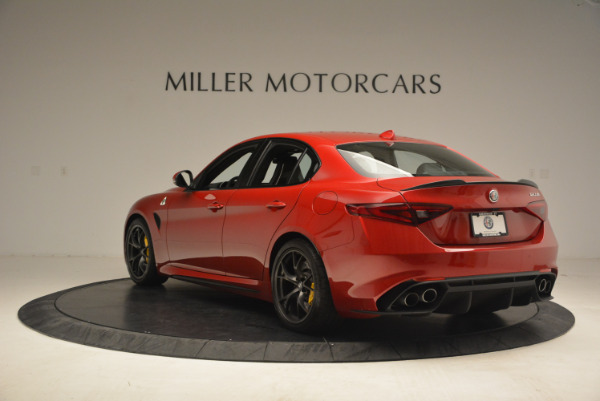 Used 2017 Alfa Romeo Giulia Quadrifoglio for sale Sold at Rolls-Royce Motor Cars Greenwich in Greenwich CT 06830 5
