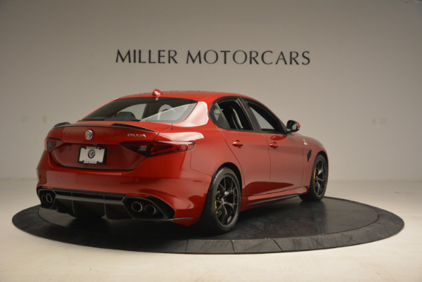 Used 2017 Alfa Romeo Giulia Quadrifoglio for sale Sold at Rolls-Royce Motor Cars Greenwich in Greenwich CT 06830 7