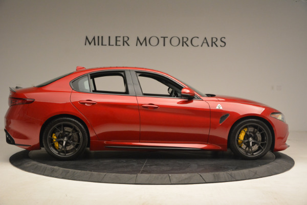 Used 2017 Alfa Romeo Giulia Quadrifoglio for sale Sold at Rolls-Royce Motor Cars Greenwich in Greenwich CT 06830 9
