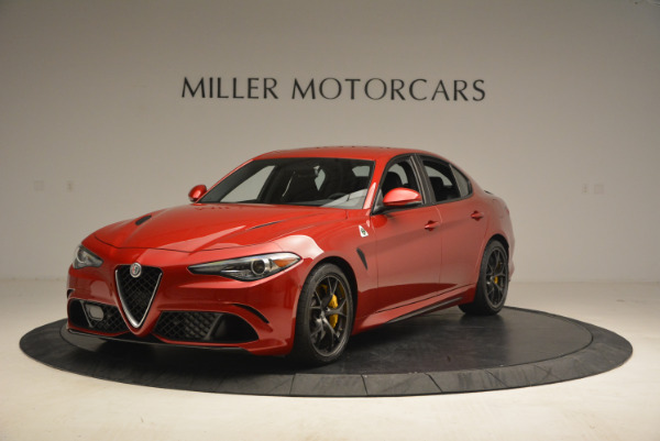 Used 2017 Alfa Romeo Giulia Quadrifoglio for sale Sold at Rolls-Royce Motor Cars Greenwich in Greenwich CT 06830 1