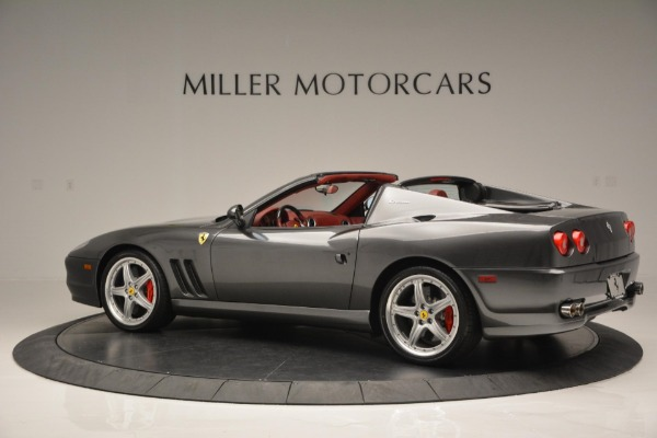 Used 2005 Ferrari Superamerica for sale $339,900 at Rolls-Royce Motor Cars Greenwich in Greenwich CT 06830 4
