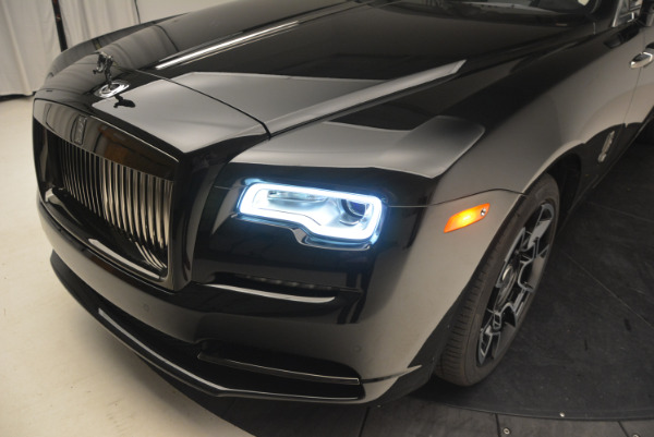 Used 2018 Rolls-Royce Dawn Black Badge for sale Call for price at Rolls-Royce Motor Cars Greenwich in Greenwich CT 06830 27