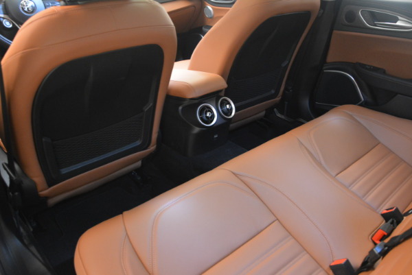 New 2017 Alfa Romeo Giulia Ti Q4 for sale Sold at Rolls-Royce Motor Cars Greenwich in Greenwich CT 06830 21