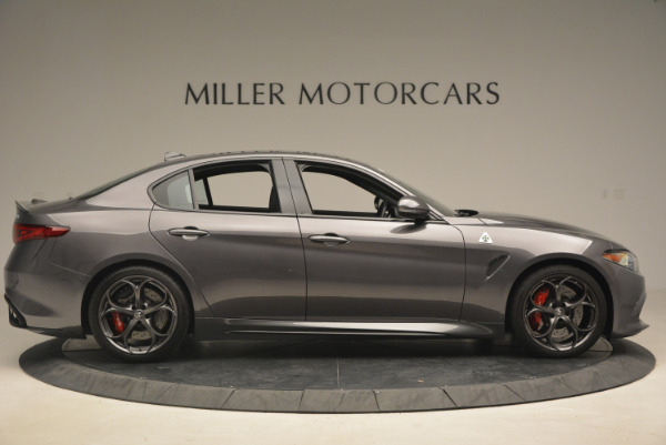 New 2017 Alfa Romeo Giulia Quadrifoglio for sale Sold at Rolls-Royce Motor Cars Greenwich in Greenwich CT 06830 10