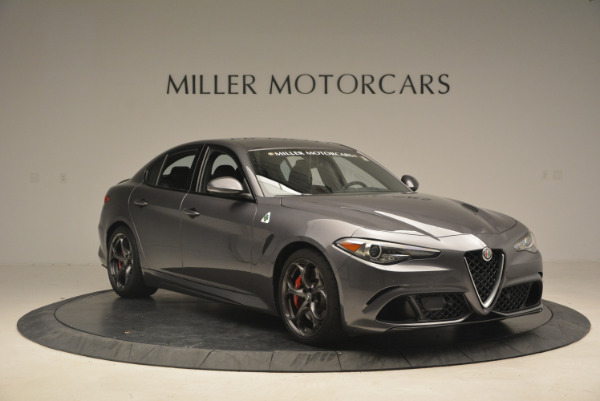 New 2017 Alfa Romeo Giulia Quadrifoglio for sale Sold at Rolls-Royce Motor Cars Greenwich in Greenwich CT 06830 12