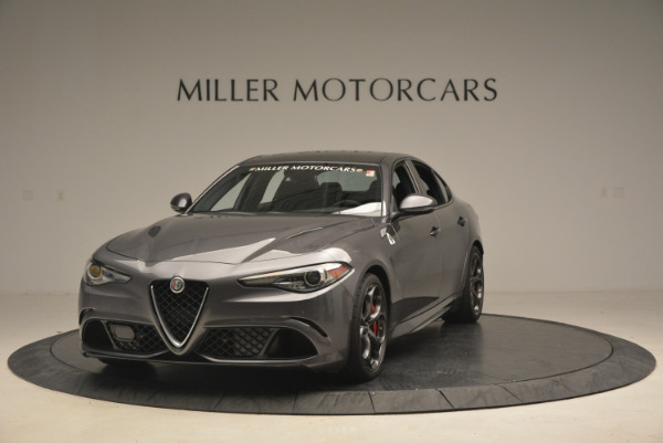 New 2017 Alfa Romeo Giulia Quadrifoglio for sale Sold at Rolls-Royce Motor Cars Greenwich in Greenwich CT 06830 2