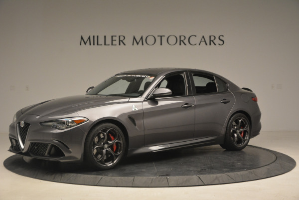 New 2017 Alfa Romeo Giulia Quadrifoglio for sale Sold at Rolls-Royce Motor Cars Greenwich in Greenwich CT 06830 3