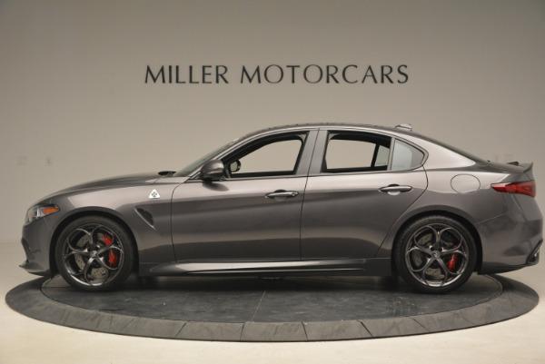 New 2017 Alfa Romeo Giulia Quadrifoglio for sale Sold at Rolls-Royce Motor Cars Greenwich in Greenwich CT 06830 4