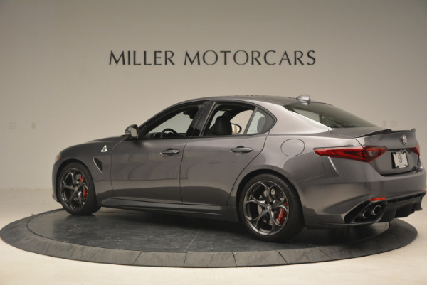 New 2017 Alfa Romeo Giulia Quadrifoglio for sale Sold at Rolls-Royce Motor Cars Greenwich in Greenwich CT 06830 5