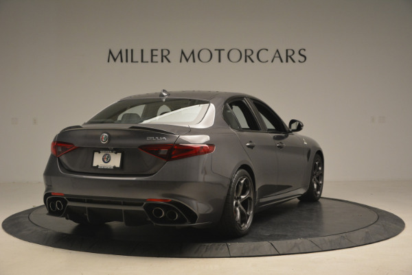 New 2017 Alfa Romeo Giulia Quadrifoglio for sale Sold at Rolls-Royce Motor Cars Greenwich in Greenwich CT 06830 8