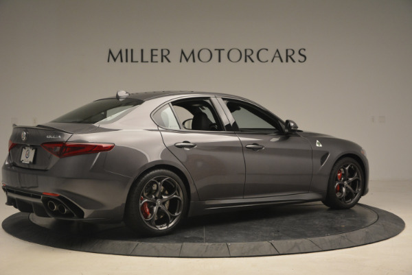 New 2017 Alfa Romeo Giulia Quadrifoglio for sale Sold at Rolls-Royce Motor Cars Greenwich in Greenwich CT 06830 9
