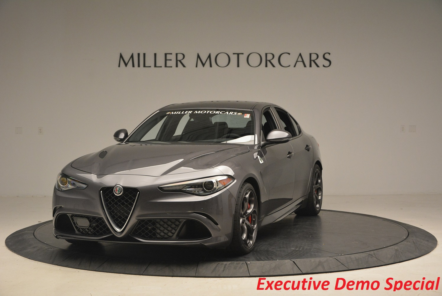 New 2017 Alfa Romeo Giulia Quadrifoglio for sale Sold at Rolls-Royce Motor Cars Greenwich in Greenwich CT 06830 1