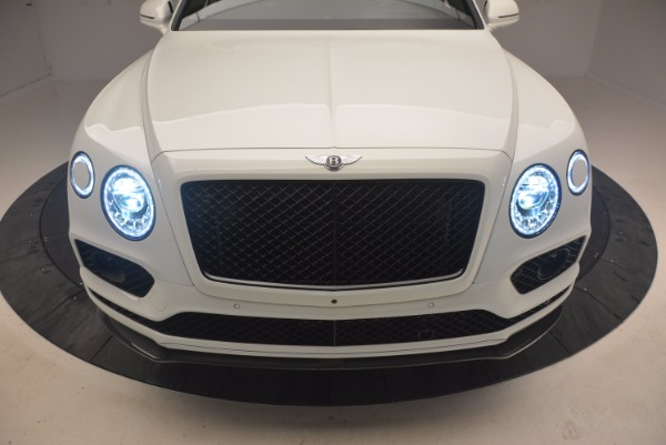 New 2018 Bentley Bentayga Black Edition for sale Sold at Rolls-Royce Motor Cars Greenwich in Greenwich CT 06830 18