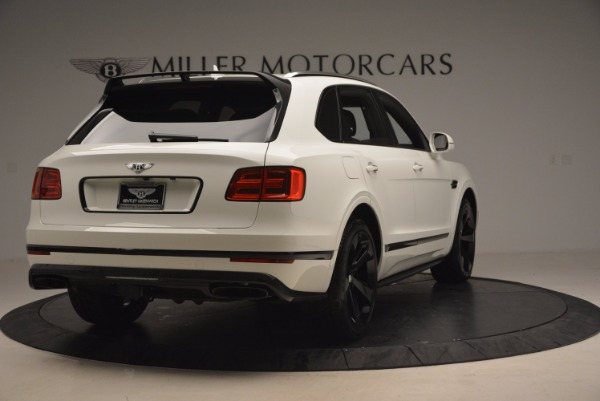 New 2018 Bentley Bentayga Black Edition for sale Sold at Rolls-Royce Motor Cars Greenwich in Greenwich CT 06830 7