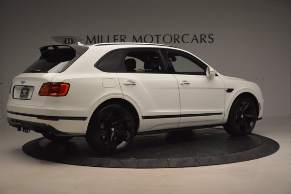 New 2018 Bentley Bentayga Black Edition for sale Sold at Rolls-Royce Motor Cars Greenwich in Greenwich CT 06830 8