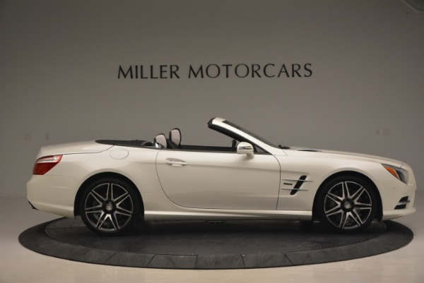 Used 2015 Mercedes Benz SL-Class SL 550 for sale Sold at Rolls-Royce Motor Cars Greenwich in Greenwich CT 06830 10