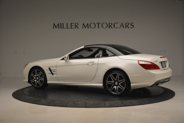 Used 2015 Mercedes Benz SL-Class SL 550 for sale Sold at Rolls-Royce Motor Cars Greenwich in Greenwich CT 06830 18