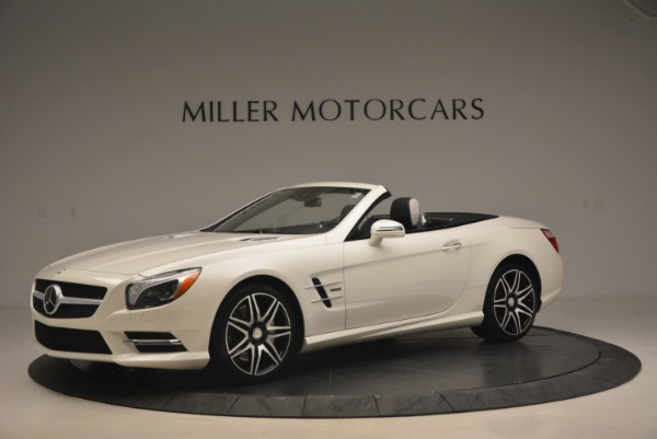 Used 2015 Mercedes Benz SL-Class SL 550 for sale Sold at Rolls-Royce Motor Cars Greenwich in Greenwich CT 06830 2