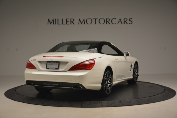 Used 2015 Mercedes Benz SL-Class SL 550 for sale Sold at Rolls-Royce Motor Cars Greenwich in Greenwich CT 06830 21