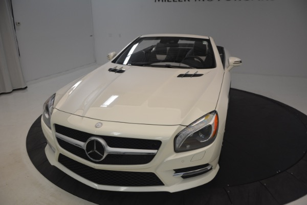 Used 2015 Mercedes Benz SL-Class SL 550 for sale Sold at Rolls-Royce Motor Cars Greenwich in Greenwich CT 06830 26