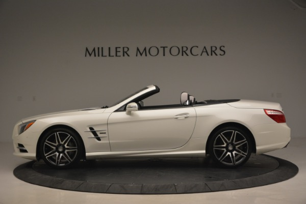 Used 2015 Mercedes Benz SL-Class SL 550 for sale Sold at Rolls-Royce Motor Cars Greenwich in Greenwich CT 06830 3