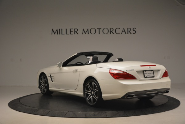 Used 2015 Mercedes Benz SL-Class SL 550 for sale Sold at Rolls-Royce Motor Cars Greenwich in Greenwich CT 06830 5