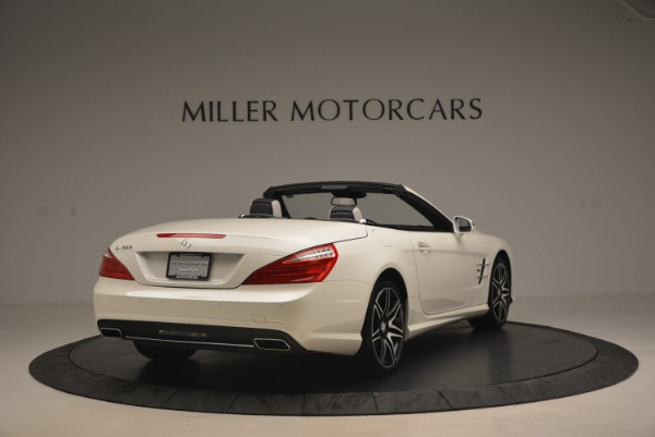 Used 2015 Mercedes Benz SL-Class SL 550 for sale Sold at Rolls-Royce Motor Cars Greenwich in Greenwich CT 06830 7