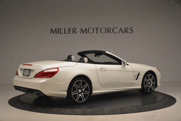 Used 2015 Mercedes Benz SL-Class SL 550 for sale Sold at Rolls-Royce Motor Cars Greenwich in Greenwich CT 06830 8