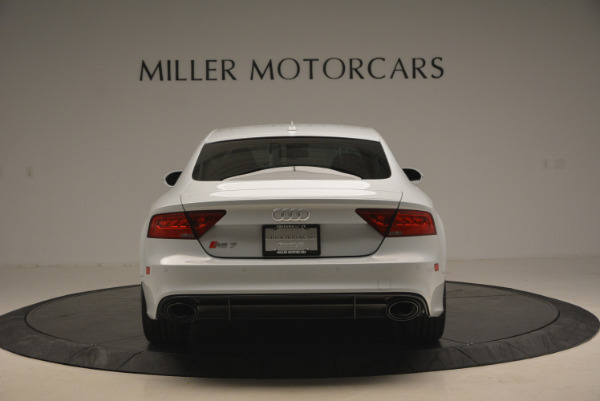 Used 2014 Audi RS 7 4.0T quattro Prestige for sale Sold at Rolls-Royce Motor Cars Greenwich in Greenwich CT 06830 6