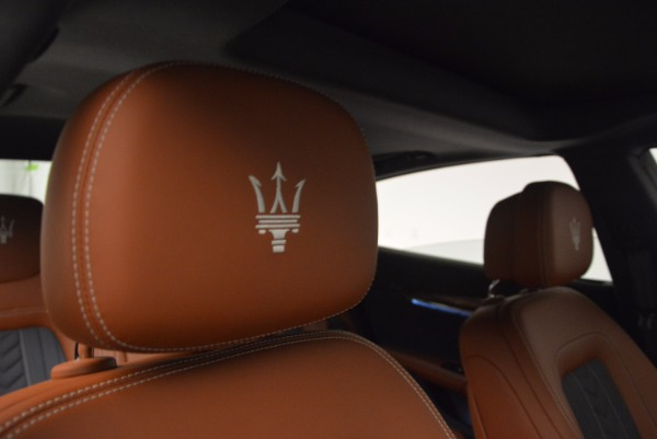 New 2017 Maserati Quattroporte S Q4 GranLusso for sale Sold at Rolls-Royce Motor Cars Greenwich in Greenwich CT 06830 19