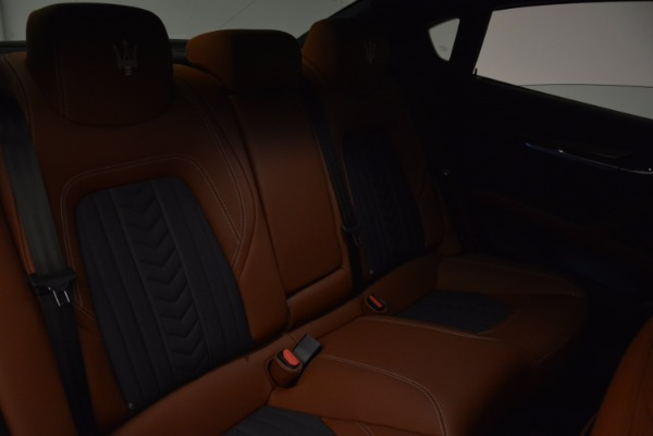 New 2017 Maserati Quattroporte S Q4 GranLusso for sale Sold at Rolls-Royce Motor Cars Greenwich in Greenwich CT 06830 22