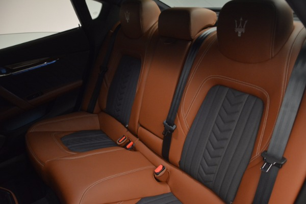 New 2017 Maserati Quattroporte S Q4 GranLusso for sale Sold at Rolls-Royce Motor Cars Greenwich in Greenwich CT 06830 27