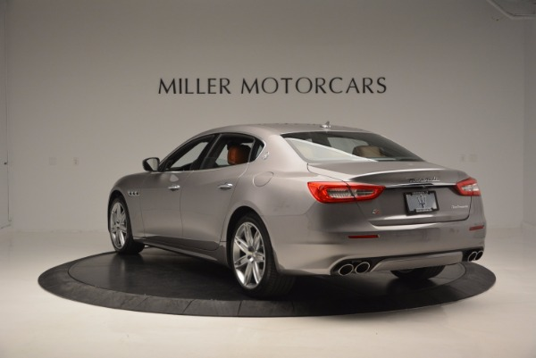 New 2017 Maserati Quattroporte S Q4 GranLusso for sale Sold at Rolls-Royce Motor Cars Greenwich in Greenwich CT 06830 5