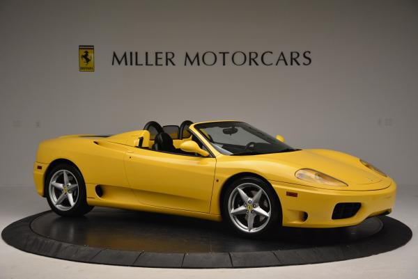 Used 2003 Ferrari 360 Spider 6-Speed Manual for sale Sold at Rolls-Royce Motor Cars Greenwich in Greenwich CT 06830 10