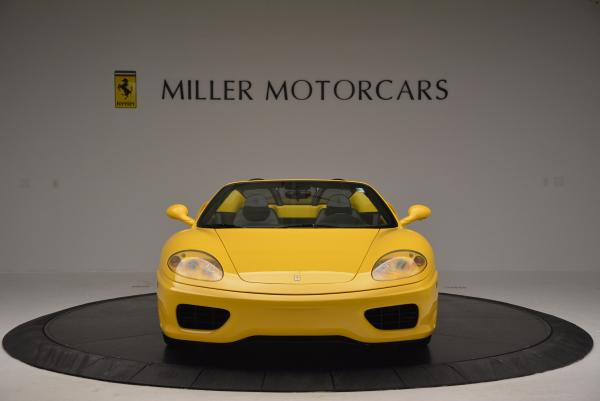 Used 2003 Ferrari 360 Spider 6-Speed Manual for sale Sold at Rolls-Royce Motor Cars Greenwich in Greenwich CT 06830 12