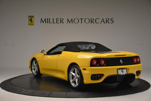 Used 2003 Ferrari 360 Spider 6-Speed Manual for sale Sold at Rolls-Royce Motor Cars Greenwich in Greenwich CT 06830 17