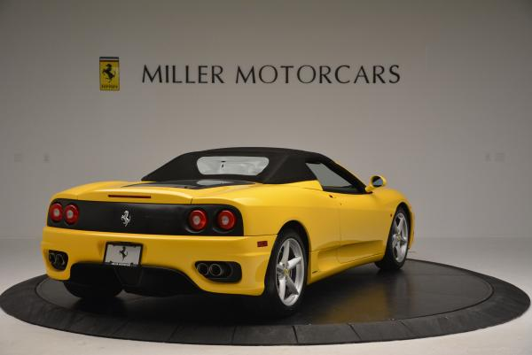 Used 2003 Ferrari 360 Spider 6-Speed Manual for sale Sold at Rolls-Royce Motor Cars Greenwich in Greenwich CT 06830 19