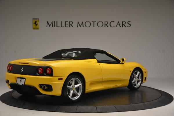 Used 2003 Ferrari 360 Spider 6-Speed Manual for sale Sold at Rolls-Royce Motor Cars Greenwich in Greenwich CT 06830 20
