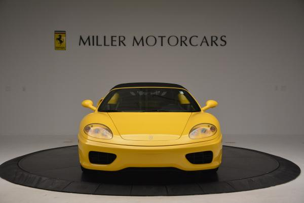 Used 2003 Ferrari 360 Spider 6-Speed Manual for sale Sold at Rolls-Royce Motor Cars Greenwich in Greenwich CT 06830 24