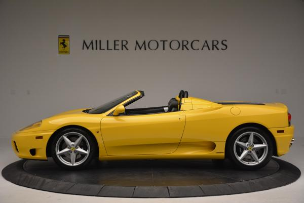Used 2003 Ferrari 360 Spider 6-Speed Manual for sale Sold at Rolls-Royce Motor Cars Greenwich in Greenwich CT 06830 3