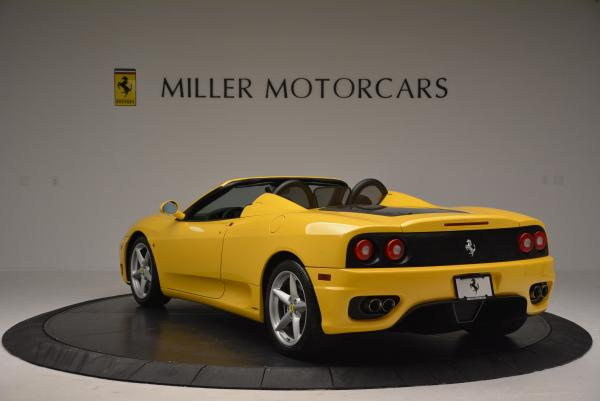 Used 2003 Ferrari 360 Spider 6-Speed Manual for sale Sold at Rolls-Royce Motor Cars Greenwich in Greenwich CT 06830 5