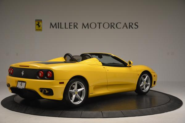 Used 2003 Ferrari 360 Spider 6-Speed Manual for sale Sold at Rolls-Royce Motor Cars Greenwich in Greenwich CT 06830 8