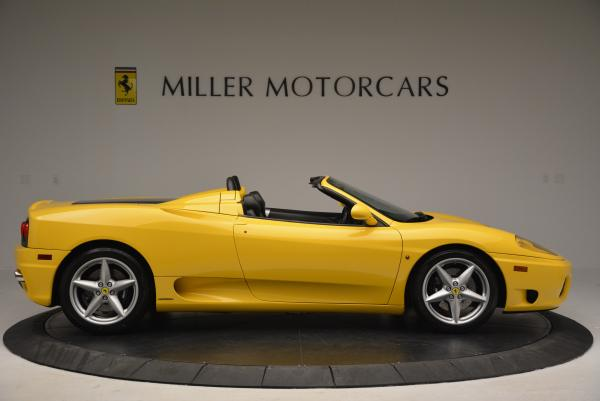 Used 2003 Ferrari 360 Spider 6-Speed Manual for sale Sold at Rolls-Royce Motor Cars Greenwich in Greenwich CT 06830 9