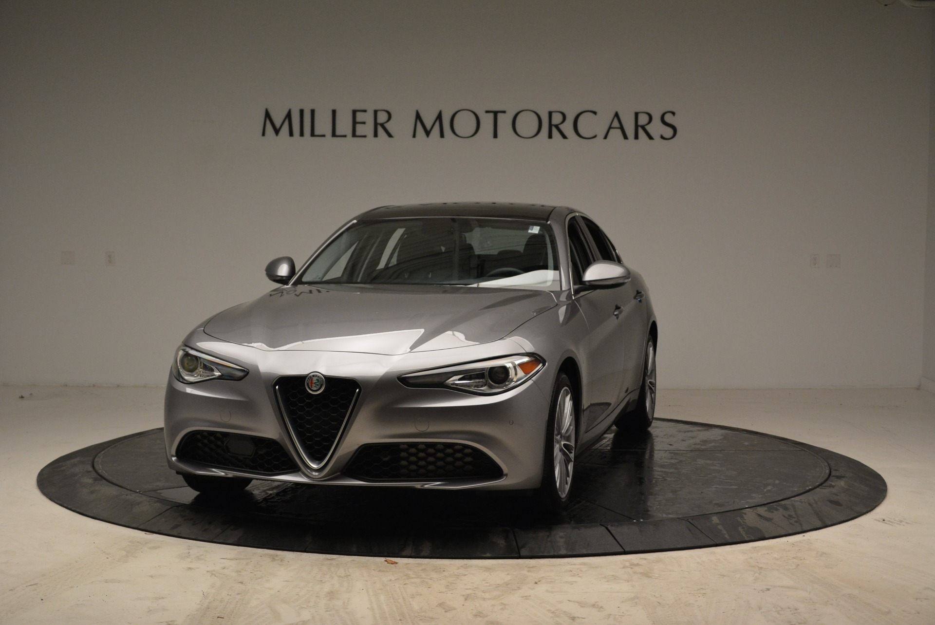 New 2017 Alfa Romeo Giulia Ti Lusso Q4 for sale Sold at Rolls-Royce Motor Cars Greenwich in Greenwich CT 06830 1