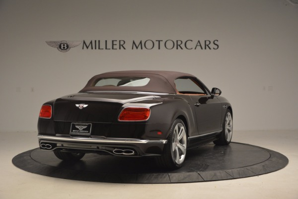 Used 2017 Bentley Continental GTC V8 S for sale Sold at Rolls-Royce Motor Cars Greenwich in Greenwich CT 06830 19