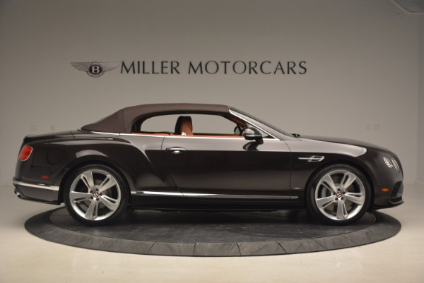 Used 2017 Bentley Continental GTC V8 S for sale Sold at Rolls-Royce Motor Cars Greenwich in Greenwich CT 06830 21