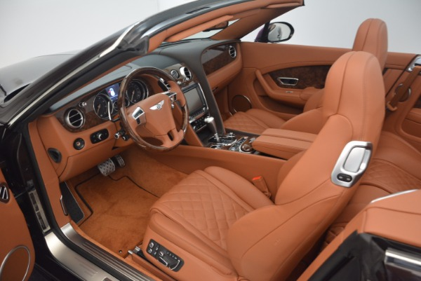 Used 2017 Bentley Continental GTC V8 S for sale Sold at Rolls-Royce Motor Cars Greenwich in Greenwich CT 06830 27