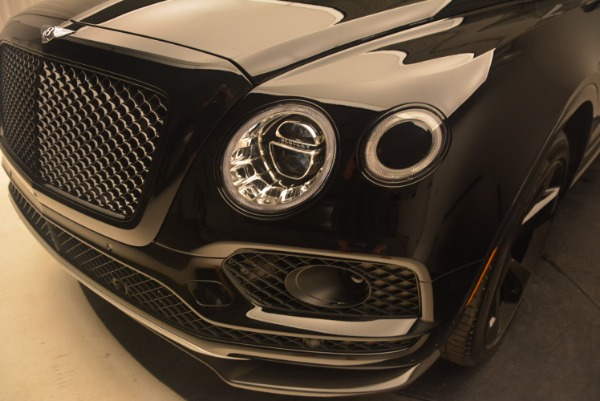 New 2018 Bentley Bentayga Black Edition for sale Sold at Rolls-Royce Motor Cars Greenwich in Greenwich CT 06830 16