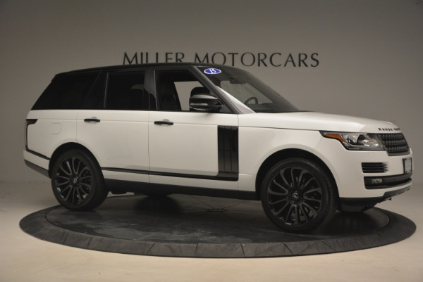 Used 2015 Land Rover Range Rover Supercharged for sale Sold at Rolls-Royce Motor Cars Greenwich in Greenwich CT 06830 10