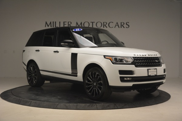 Used 2015 Land Rover Range Rover Supercharged for sale Sold at Rolls-Royce Motor Cars Greenwich in Greenwich CT 06830 11
